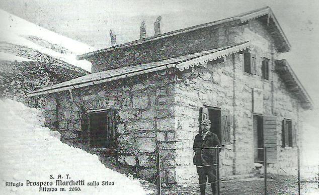 """Monte Stivo: il rifugio """"Prospero Marchetti"""" inaugurato il 7 ottobre 1906"""